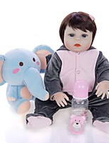 cheap -KEIUMI 19 inch Reborn Doll Baby & Toddler Toy Reborn Toddler Doll Baby Boy Gift Cute Washable Lovely Parent-Child Interaction Full Body Silicone 19D09-C70-H21-T12 with Clothes and Accessories for