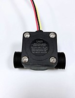 cheap -Micro Hall Effect Magnetic Saier Flowmeter Liquid Water System Pulse Signal Water Flow Meter Sensor Control SEN-HZ21WA