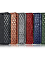 cheap -Case For Samsung Galaxy S9 / S9 Plus / Galaxy S10 Wallet / Card Holder / with Stand Full Body Cases Solid Colored / Geometric Pattern PU Leather