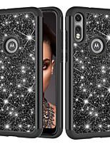 cheap -Case For Motorola Moto E7  Moto G Power  Moto G Stylus Shockproof  Glitter Shine Back Cover Solid Colored  Glitter Shine TPU PC