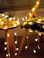 cheap -3M 20LED Star LED String Lights USB Powered Fairy Lights Christmas Wedding Holiday Party Decoration Light