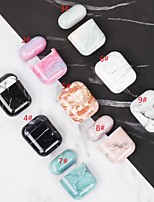 cheap -AirPods 1 2 Earphone Protection Case Marble PC Headphone Cover