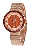 cheap -Women's Quartz Watches Quartz Modern Style Stylish Elegant Water Resistant / Waterproof Analog Rose Gold / Stainless Steel / Calendar / date / day