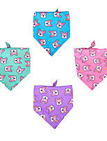 cheap -Dog Cat Bandanas & Hats Dog Bandana Dog Bibs Scarf Character Party Cute Party Sports Dog Clothes Adjustable Costume Polyester L