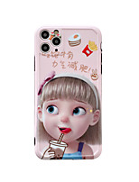 cheap -Case For Apple iPhone 7 8 7plus 8plus x xr xs xsmax 11 11pro 11promax se Pattern Back Cover Word Phrase Cartoon TPU