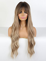 cheap -Synthetic Wig Loose Curl Layered Haircut Wig Long Synthetic Hair 26 inch Women's Fashionable Design Women curling Blonde