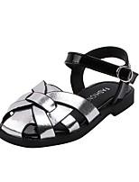 cheap -Girls' Sandals Comfort PU Little Kids(4-7ys) Gold / Silver / Beige Summer