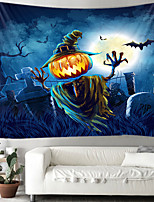 cheap -Halloween pumpkin ghost tapestry room quilt wall art home decoration of tapestry Halloween tapestry