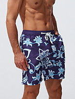 cheap -Men's Swim Shorts Bottoms Breathable Quick Dry Swimming Surfing Water Sports Patchwork Summer