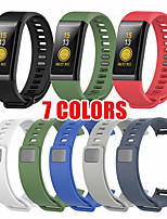 cheap -Silicone Replacement Band Wrist Strap For Xiaomi Huami Amazfit Cor A1702 English version Midong Band Smart Wristband 7 Colors