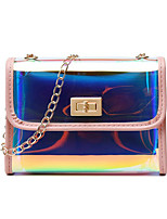 cheap -Women's Bags PU Leather Crossbody Bag for Daily Black / Blue / Red / Blushing Pink