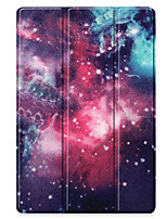 cheap -Case For Samsung Galaxy Samsung Tab A 8.0 2019 SM-P200 P205 Galaxy Tab A 8.4 (2020) Flip Pattern Full Body Cases sky TPU PC