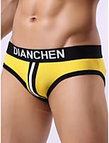 cheap -Men's Cut Out Briefs Underwear - Normal Low Waist White Black Red M L XL