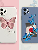 cheap -Case For Apple iPhone 7 iPhone 7P iPhone 8 iPhone 8P iPhone X iPhone iPhone XS iPhone XR iPhone XS max iPhone 11 iPhone 11 Pro iPhone 11 Pro Max Pattern Back Cover Butterfly TPU