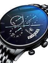cheap -NEKTOM Men's Sport Watch Quartz Sporty Stylish Casual Water Resistant / Waterproof Analog - Digital Black Black / White / Stainless Steel / Japanese / Calendar / date / day / Noctilucent / Japanese