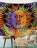 cheap -Wall Hanging Tapestry Sun Witchcraft Tapestry Wall Fabric Wall Blanket Farmhouse Home Decor Boho Window Tapestry