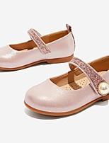 cheap -Girls' Flats Comfort PU Little Kids(4-7ys) Black / Pink Summer
