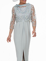 cheap -3/4 Length Sleeve Shrugs Chiffon / Lace Wedding / Party / Evening Women's Wrap With Appliques / Hollow-out