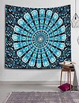 cheap -Large Mandala Indian Tapestry Wall Hanging Bohemian Beach Towel Polyester Thin Blanket Yoga Mat Rug
