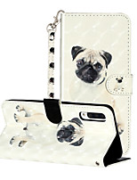 cheap -Case For Samsung Galaxy A01 A21 M10 A10 A10S A10E A20 A20S A20E A30 A30S A40 A50 A50S M10S Shockproof  Flip  Pattern Full Body Cases Butterfly  Animal  Flower PU Leather  TPU