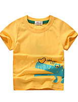 cheap -Kids Boys' Street chic Animal Short Sleeve Tee Yellow