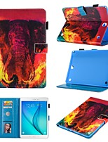 cheap -Case For Samsung Galaxy galaxy tab A 9.7 T550 T555  Samsung TAB A 10.1 T580N  T585C  Samsung TAB E 9.6 T560  T561  T565  T567V 360 Rotation  Shockproof  Magnetic Full Body Cases Animal