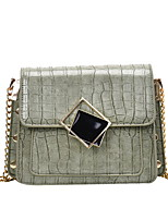 cheap -Women's Bags PU Leather Crossbody Bag for Daily White / Black / Purple / Green