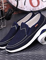 cheap -Men's Summer Daily Loafers & Slip-Ons Mesh Dark Blue / Light Blue