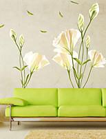 cheap -Floral / Botanical Wall Stickers Plane Wall Stickers Decorative Wall Stickers PVC Home Decoration Wall Decal Wall / Window Decoration 1pc