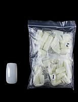 cheap -Fake Nails Oval Nails False Round Nails Full Cover Artificial Press On Nails Natural 500pcs 10 Sizes