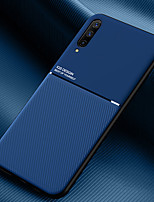 cheap -Case For Huawei HONOR SERIES note 10 magic2 v8 v9 v10 9a play 4Tpro x10 Shockproof Back Cover Textured embossed Lines Solid Colored TPU Magnetic