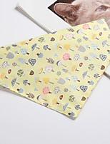 cheap -Dog Dog Bandana Dog Bibs Scarf Triangle Bibs Accessories Dog Clothes Adjustable Yellow Blue Pink Costume Husky Golden Retriever Corgi Cotton Polyster Character Casual / Sporty Cute S M