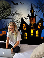 cheap -Halloween pumpkin tapestry room quilt wall art home decoration of tapestry Halloween tapestry
