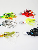 cheap -1 pcs Fishing Lures Fishing Bait Buzzbait & Spinnerbait Flies Sinking Bass Trout Pike Bait Casting Other Lure Fishing Lead
