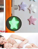 cheap -1PCS Silicone Self Adhesive Wall Protectors Door Handle Bumpers Buffer Guard Stoppers Silencer Crash Pad Doorknob Lock