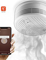 cheap -Wifi Smoke Detector Intelligent Fire Alarm Sensor Wireless Security System Smart Life Your Application Control Smart Home