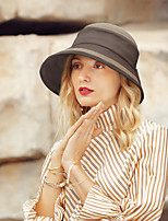 cheap -Polyester Straw Hats with Bowknot 1pc Casual / Daily Wear Headpiece