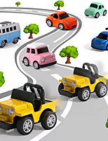 cheap -Vehicle Playset Construction Truck Toys Pull Back Car / Inertia Car Mini Cartoon Sports Car Simulation Drop-resistant Alloy Mini Car Vehicles Toys for Party Favor or Kids Birthday Gift 8 pcs / Kid's