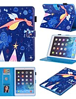 cheap -Case For Apple iPad Mini 3 2 1  iPad Mini 4  iPad Mini 5 360 Rotation  Shockproof  Magnetic Full Body Cases Animal  Cartoon  Flower PU Leather  TPU
