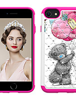 cheap -Case For Apple iPhone 6 6s 7 8 6plus 6splus 7plus 8plus X XR XS XSMax SE(2020) iPhone 11 11Pro 11ProMax Shockproof Rhinestone Pattern Back Cover Butterfly Animal Flower TPU PC