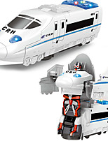 cheap -Construction Truck Toys Electric Deformation Robot High-Speed Train Toy Robot Train Sounds Simulation Drop-resistant Plastic Mini Car Vehicles Toys for Party Favor or Kids Birthday Gift / Kid's