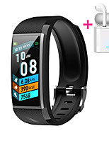 cheap -JSBP HY18 Men Women Smartwatch Custom dial Android iOS Bluetooth Waterproof Touch Screen Heart Rate Monitor Blood Pressure Measurement Sports Timer Stopwatch Pedometer Call Reminder Activity Tracker