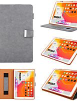 cheap -Case For Apple iPad Air  iPad (2018)  iPad Air 2 iPad(2017) iPad Pro9.7 iPad5 6 7 8 9 360 Rotation  Shockproof  Magnetic Full Body Cases Solid Colored PU Leather  TPU