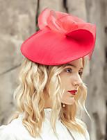 cheap -Headwear Elegant Polyester Hats / Headpiece with Flower 1pc Wedding / Party / Evening Headpiece
