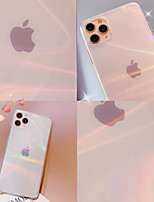 cheap -Case For Apple iPhone 7 iPhone 7P iPhone 8 iPhone 8P iPhone X iPhone iPhone XS iPhone XR iPhone XS max iPhone 11 iPhone 11 Pro iPhone 11 Pro Max Transparent Back Cover Color Gradient TPU