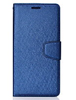 cheap -Case For LG LG V30 Card Holder Flip Magnetic Full Body Cases Solid Colored PU Leather textured