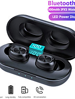 cheap -B5 TWS Wireless Earbuds Bluetooth Earphones 3D Streo Sound with LED Power Display Case IPX5 Waterproof Charging Box