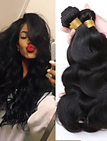 cheap -3 Bundles Hair Weaves Brazilian Hair Body Wave Human Hair Extensions Remy Human Hair 100% Remy Hair Weave Bundles 300 g Natural Color Hair Weaves / Hair Bulk Human Hair Extensions 8-28 inch Natural