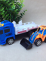 cheap -Excavator Toy Construction Truck Toys Transport Car Toy Bulldozer Simulation Drop-resistant Plastic Mini Car Vehicles Toys for Party Favor or Kids Birthday Gift / Kid's