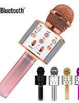 cheap -Bluetooth Karaoke Microphone Wireless Microphone Professiona Speaker Handheld Microfone Player Singing Recorder Mic